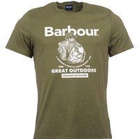 Barbour Outdoors Tee Lt Moss Large