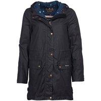 Barbour X Emma Bridgewater Underwood Wax Jacket Royal Navy/Spot 8