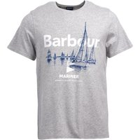 Barbour Skiff Tee Grey Marl Medium