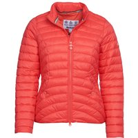 Barbour Womens Shorewood Quilted Jacket Coral 12