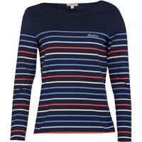 Barbour Hawkins Striped Top Navy Multi 10