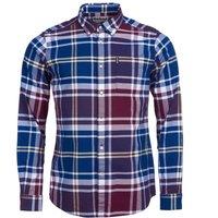 Barbour Highland Check 23 Tailored Shirt Merlot Medium