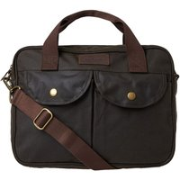 Barbour Wax Longthorpe Bag Olive One