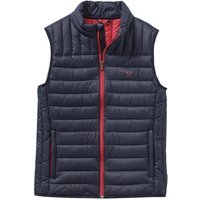 Crew Clothing Lowther Gilet Dark Navy Small