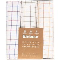 Barbour Tartan Handkerchiefs White One