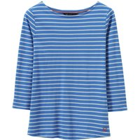 Crew Clothing Essential Breton Strong Blue 12