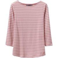 Crew Clothing Essential Breton Flamingo/White 10