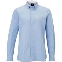 Crew Clothing Slim Oxford Shirt Sky XXL