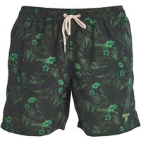 Barbour Filey Swim Shorts Dk Green Small