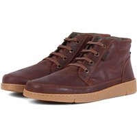 Barbour Wombat shoes Rust Suede 7