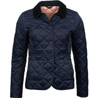 Barbour Deveron Quilted Jacket Navy/Pale Pink 14