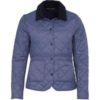 Barbour Womens Deveron Quilted Jacket Slate Blue/Navy 16