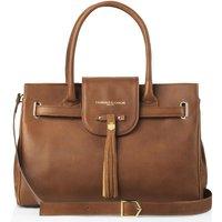 Fairfax and Favor Windsor Handbag Tan Leather Tan