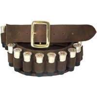 Teales 12 Bore Leather Cartridge Belt Open Hoops 25 Shells Oiled 12 Bore