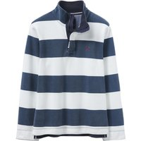 Crew Clothing Padstow Pique Sweat Navy/White XL