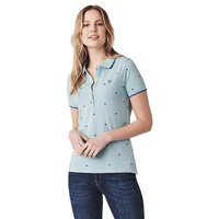 Crew Clothing Womens Revamped Classic Polo Blue Bird 12
