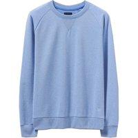 Crew Clothing Overdyed Marl Sweatshirt Blue 8