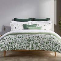 Christy Leaf Fronds Duvet Set  Double