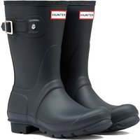 Hunter Original Short Ladies Wellingtons Navy 8 (EU42)