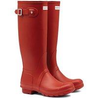 Hunter Original Tall Ladies Wellingtons Military Red 5 (EU38)