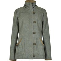 Dubarry Womens Bracken Tweed Utility Jacket Rowan 10