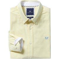 Crew Clothing Mens Slim Oxford Shirt Lemon Small