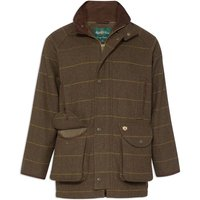 Alan Paine Mens Combrook Coat Forest Green Large