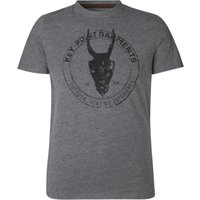 Seeland Key-Point T Shirt Grey Melange XXL