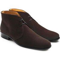 Fairfax & Favor Mens Desert Boot Chocolate Suede 9 (EU43)