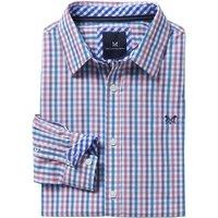 Crew Clothing Classic Gingham Shirt Sporting Blue / Purple  / Cassis XXL