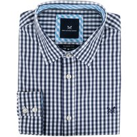 Crew Clothing Mens Classic Gingham Shirt Heritage Navy Small