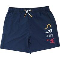 Crew Clothing Plain Swim Shorts Heritage Navy 38