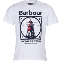 Barbour Tarbert Tee White Medium