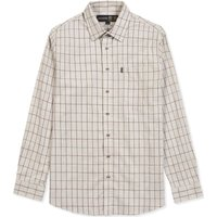 Musto Mens Classic Country Shirt Wray Gold Small