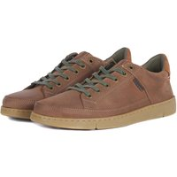 Barbour Mens Bilby Shoes Whiskey Nubuck 9