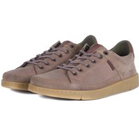 Barbour Mens Bilby Shoes Stone Nubuck 8