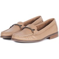 Barbour Womens Elsie Loafers Light Tan 4