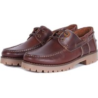 Barbour Mens Stern Shoes Mahogany Leather 11