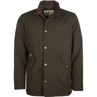 Barbour Mens Chester Jacket Dark Olive Small