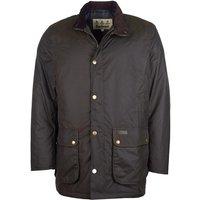 Barbour Mens Hartlington Wax Jacket Olive Large
