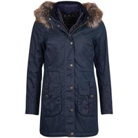 Barbour Womens Homeswood Wax Jacket Navy/Classic 14