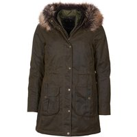 Barbour Womens Homeswood Wax Jacket Olive/Classic 12