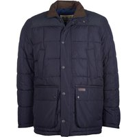 Barbour Mens Ambrose Quilted Jacket Navy Medium