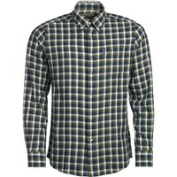 Barbour Mens Eco 2 Tailored Shirt Navy Small