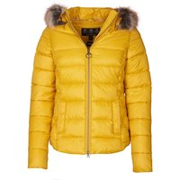 Barbour Womens Irving Quilted Jacket Golden Yellow 16