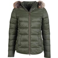 Barbour Womens Irving Quilted Jacket Olive 10