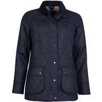 Barbour Womens Gibbon Wax Jacket Navy/Dress 10