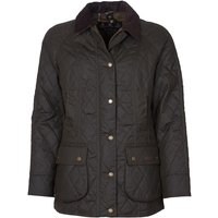 Barbour Womens Gibbon Wax Jacket Olive/Classic 12