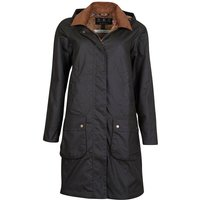 Barbour x Laura Ashley Womens Yews Wax Jacket Olive/Indienne 12
