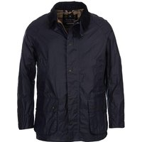 Barbour Mens Lightweight Ashby Wax Jacket Royal Navy Small